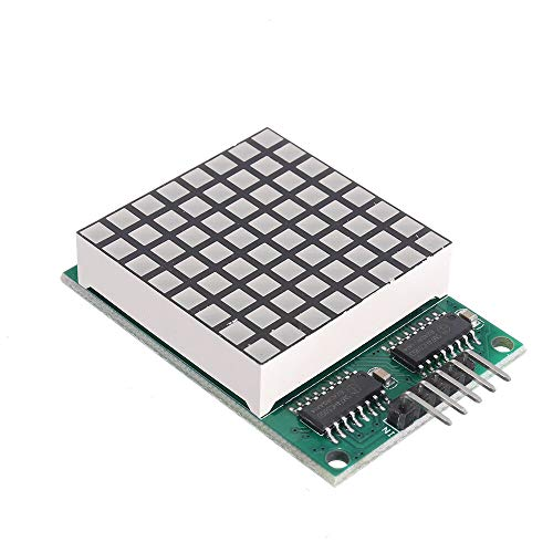 JISHIYU-Q DM11A88 8x8 Foursquare Matrix Red LED Dot Display Module UNO MEGA2560 DUE Raspberry Pi for Arduino