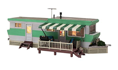 Woodland Scenics O Scale Built-Up Building/Structure Grillin & Chillin Trailer
