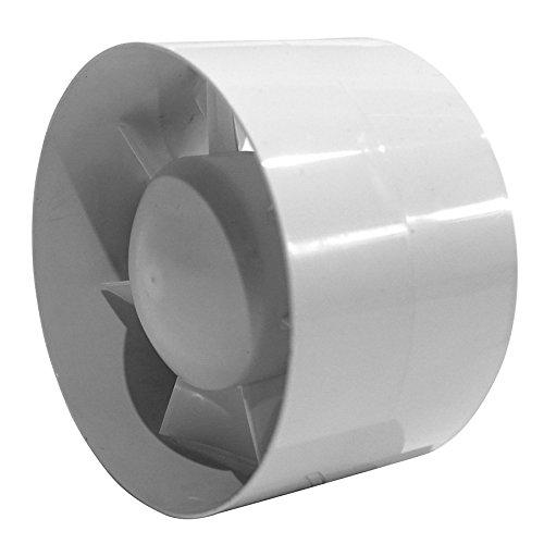 Ø 125 mm buisventilator buisventilator afvoerlucht ventilator buis ventilator stille kogellagers