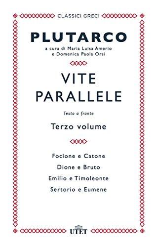 Vite parallele. Testo greco a fronte (Vol. 3)