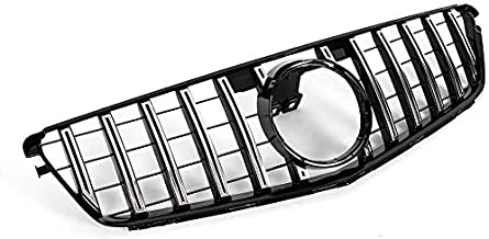DONNGYZ Front Bumper Upper Chrome Grill GT R AMG Style For 2008-2014 Mercedes Benz C Class W204 C200 C300(US Stock)