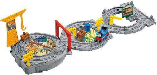 Fisher Price - X3123 - Vehicule Miniature Premier Age - Thomas Le Petit Train - Playset 3 en 1