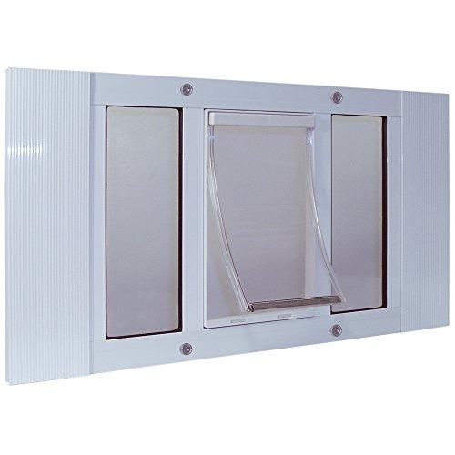 Ideal Pet Products 27SWDXL - Marco de Aluminio para Ventana de Mascotas, tamaño Extragrande, 26,5 x 38,1 cm, Color Blanco