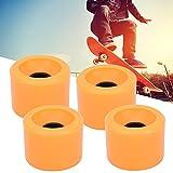 Okuyonic 4 unids/Set patineta de dirección Deslizante Accesorio para patineta (Azul Naranja Blanco) Cruiser Snakeboard Patines cuádruples para patineta Pennyboard Waveboard(Orange)