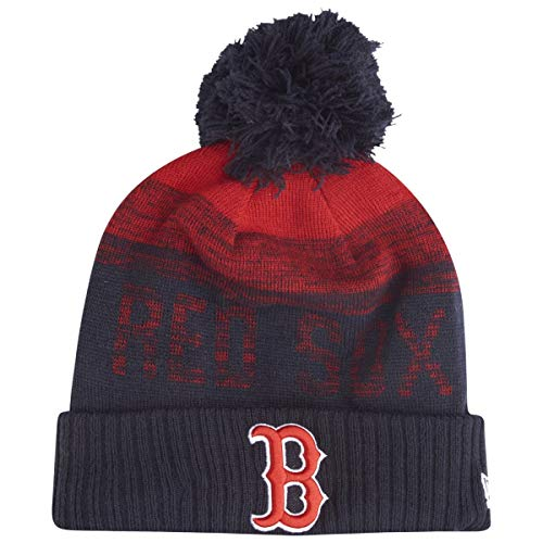 New Era MLB ON-Field Fleece Winter Mütze - Boston Red Sox