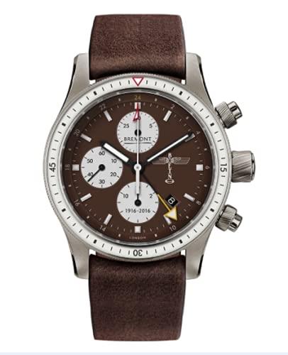 BREMONT Reloj Boeing 100 de titanio de edición limitada BB100