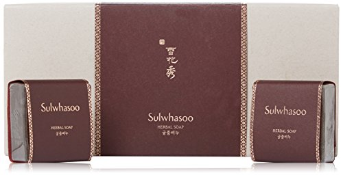 [Sulwhasoo] Herbal Soap SET (Goong-Joong Soap) 100g x 2pcs / FREE Gift Wrap!