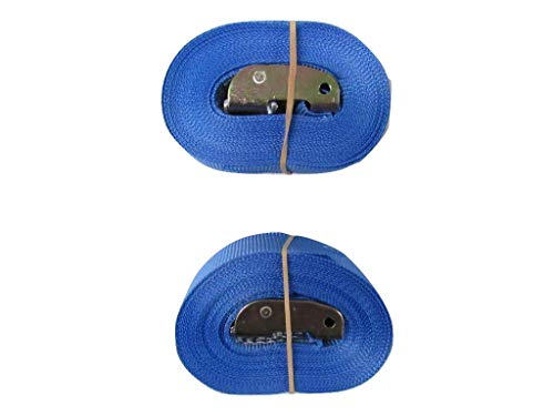 Cambuckle Tie Down Straps 50MM 900KG 5M x2