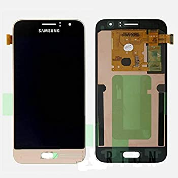 ePartSolution_LCD Touch Screen Digitizer Assembly Gold for Samsung Galaxy Express 3 Galaxy Amp 2 J1 2016 J120F J120H J120M Replacement Part USA