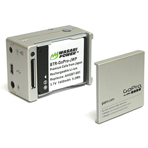 Wasabi Power Battery for GoPro HD HERO2, GoPro Original HD HERO and GoPro AHDBT-001, AHDBT-002