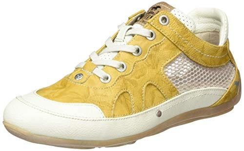 MUSTANG Damen 1306-301-6 Sneaker, Gelb (Gelb 6), 40 EU