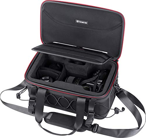 Smatree DSLR/SLR Camera Sling Bag Compatible with Nikon/Canon/Sony/Pentax, Travel Photography Gadget Shoulder Bag for Men and Women, Anti-Shock, Scratch-Proof