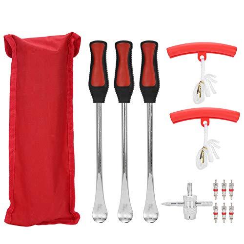 GAESHOW, palanca de cuchara para neumáticos, kit de cambio de motocicleta, herramienta de reparación de removedor, herrajes de acero inoxidable