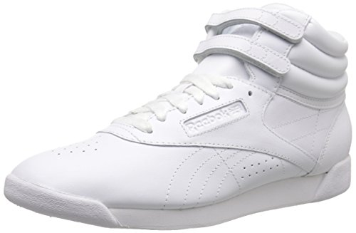 Reebok womens freestyle hi lace up sneaker image