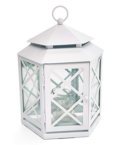 PartyLite Spiegel-Laterne Lattice, H:31 cm