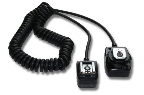 vhbw TTL Blitzkabel kompatibel mit Kamera Canon EOS M, 1D Mark II, 1D Mark III, 5D Mark II, 6D, 7D, 20D, 30D, 40D, 50D, 60D, 100D, 400D, 600D, u.a. Ersatz...