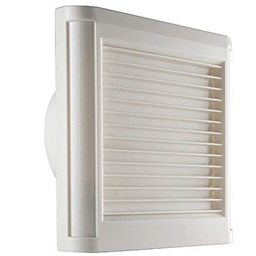 Ventilador de ventilación doméstico Bola del Motor Extintor, Cristal De Ventana Ventilador, Montado En La Pared De La Cocina, WC 4 Pulgadas 100mm LITING