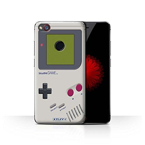 Hülle Für ZTE Nubia Z11 Mini Spielkonsolen Nintendo Game Boy Design Transparent Ultra Dünn Klar Hart Schutz Handyhülle Case