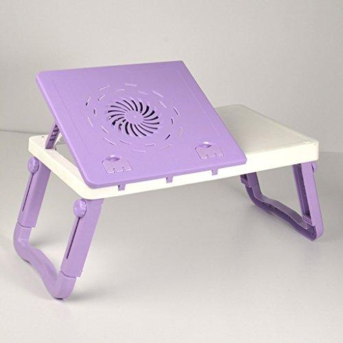 Ordinateur Bureau Université lit dortoir avec ordinateur portable simple tablette table d'ordinateur paresseux table pliante table d'apprentissage avec radiateur