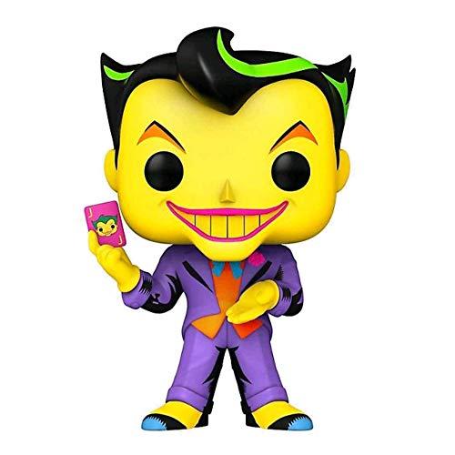 Funko POP! Heroes - Batman Animated #370 THE JOKER BLACK LIGHT GLOWcon PROTECTOR BOX Figure in Vinile 9 cm