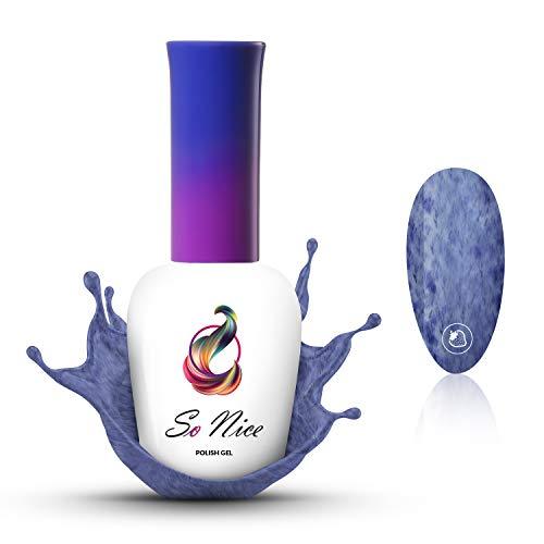 So Nice - Vernis gel, Denim Blue, UV LED, 8 ml