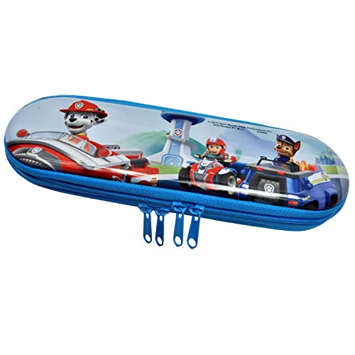 Paw Patrol Dogs Metal Zippered Pencil Case Holder