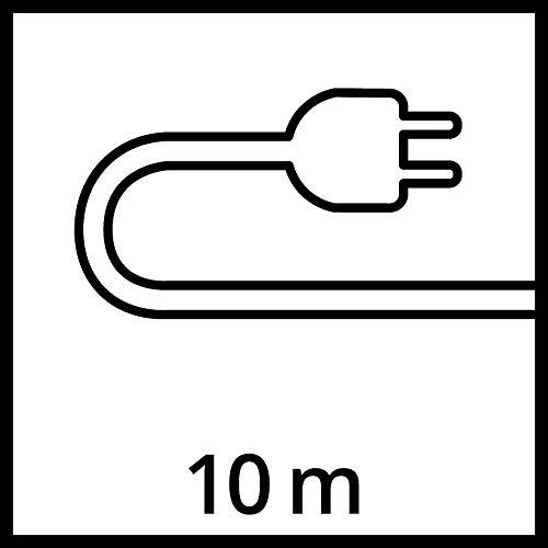 Einhell Pompe d'évacuation pour eaux chargées GH-DP 3730 (370 W, Profondeur d'immersion 5 m, Câble d'alimentation 10 m, Avec flotteur, Turbine en inox anticorrosion, Enroulement du câble)