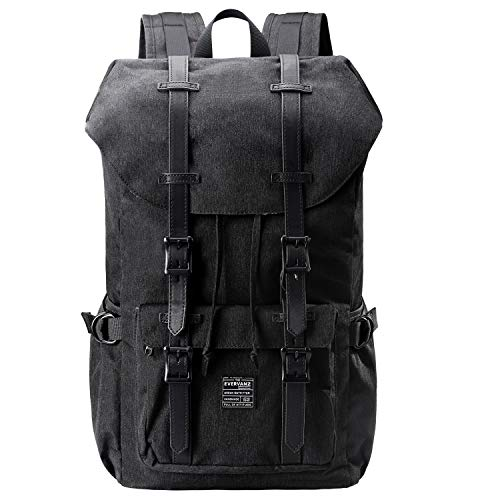 EverVanz Outdoor Polyester Backpack, Travel Hiking Camping Rucksack Pack, Large Casual...