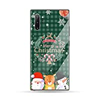 Merry christmas happy new year Phone Case Tempered glass For Samsung S6 S7 edge S8 S9 S10 e plus note8 9 10 pro,a10,Samsung S7