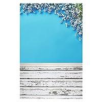 ビニールのカスタム写真の背景の支柱木の板のテーマ写真の背景191106BC-01 (Color : K, Size (mm) : Seamless 90x125cm)