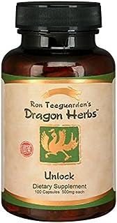 Dragon Herbs Unlock 500 mg 100 Capsules
