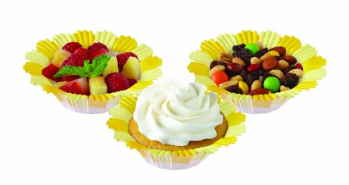 Wilton Blossoms Baking Cup, Yellow