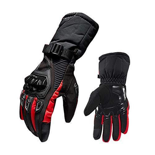 Oshidede Winter Motorrad Handschuhe Wasserdicht Und Warm Vier Jahreszeiten Reiten Motorradfahrer Anti-Fall-Cross-Country-Handschuhe