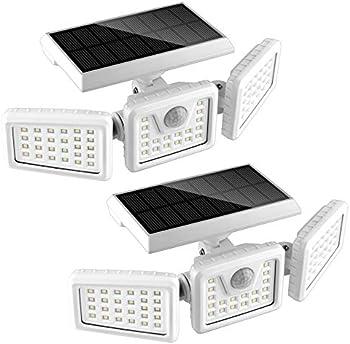 2-Pack Flowood 70 LED Waterproof Solar Motion Sensor Lights