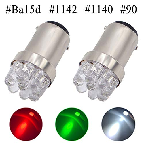 Review Shangyuan 1004 LED Bulb, 1142 LED Bulb, 90 LED Bulb, Ba15d LED Bulb, Boat Light Bulbs, Mini M...