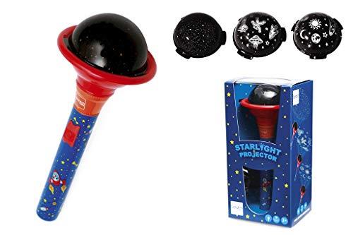 Scratch 6182322 - Projektor Taschenlampe Weltraum, Verschiedene Spielwaren