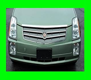 312 Motoring fits 2004-2009 Cadillac SRX Chrome Grille Grill KIT 2005 2006 2007 2008 04 05 06 07 08 09 Sport Performance AWD