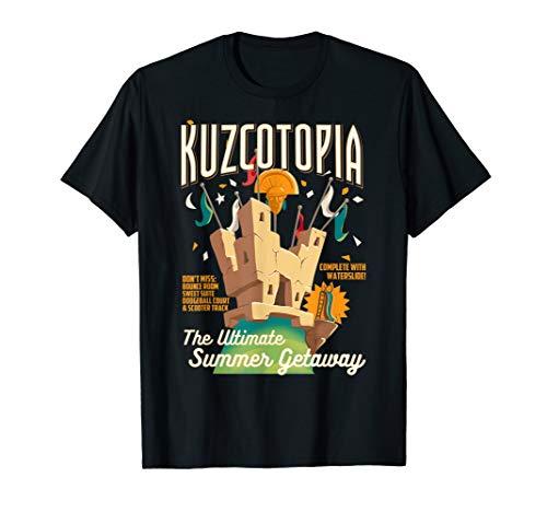 Disney The Emperor's New Groove Kuzcotopia Poster T-Shirt