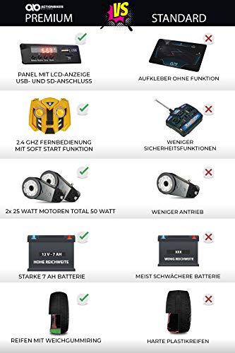 RC Auto kaufen Kinderauto Bild 4: Actionbikes Motors Kinder Elektro Radlader D2810 - 50 Watt Motor - Weichgummiring Reifen - 2,4 Ghz Fernbedienung - Soft Start*