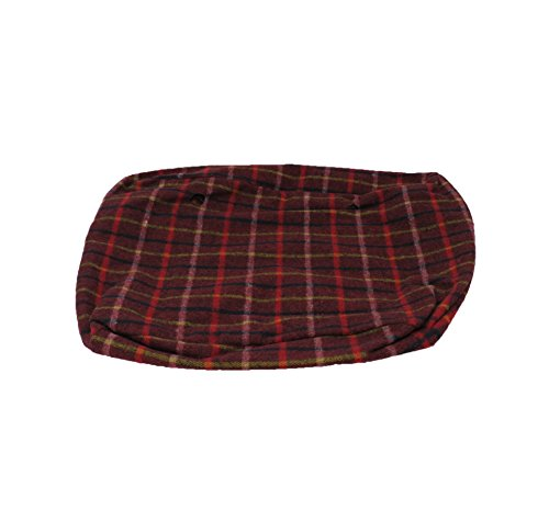 O Bag Inner Bag Red Tartan Fabric