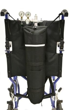 Wheelchair E Size Oxygen Tank Holder
