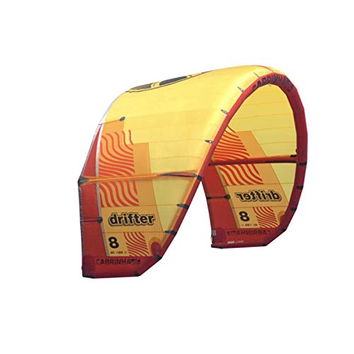 Cabrinha Drifter Kite 2019-Orange/Yellow-13,0