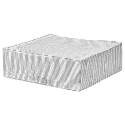 Caja de almacenamiento STUK 55x51x18 cm blanco/gris