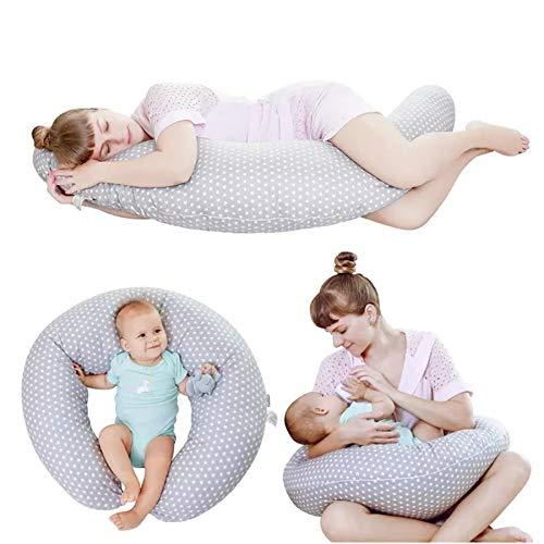 almohada bebe,plagiocefalia,cojín antivuelco,cuña antireflujo,minicuna bebe,lactancia,1pc Almohada para el cuidado del bebé para lactancia Almohada para lactancia para bebés recién nacidos