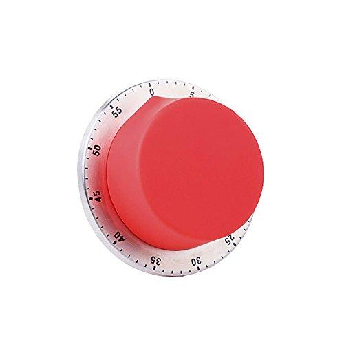 Temporizador De Cocina Recordatorio De Repostería Tiempo De 60 Minutos Contador Regresivo Alarma Fuerte Con Respaldo Magnético Para La Cocina Estudiando El Reloj Despertador (No Necesita Batería)