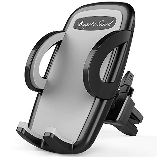 Budget&Good Universal Car Phone Mount - 360 Rotation Air Vent Phone Holder for Car Compatible with Samsung Galaxy S10 E S9 S8 Plus Edge and More