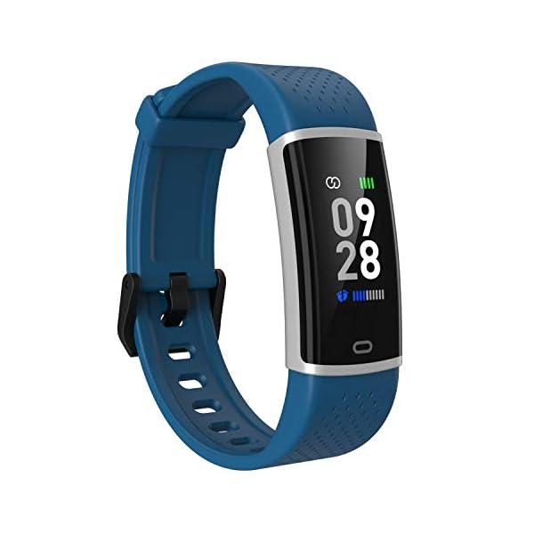 Fitpolo Fitness Tracker Pulsera de Actividad Inteligente Impermeable Paso Frecuencia cardíaca Contador de calorías… 1