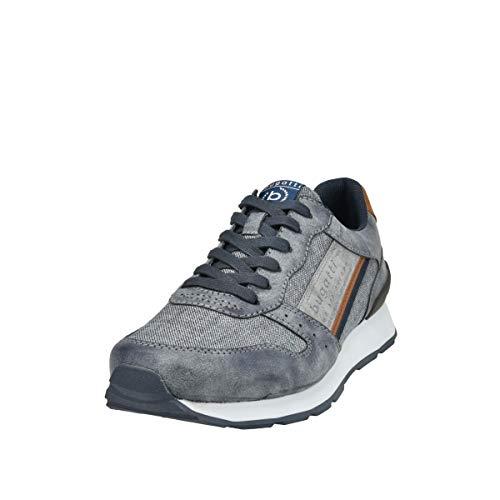 bugatti Herren 323308055000 Schnürer Sneaker , Blue , 41 EU