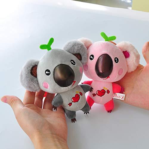 Llavero de algodón con diseño de Koala de Profusion, para Regalo de San Valentín
