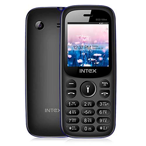 Intex Eco 105vx Mobile - Grey + Black Color